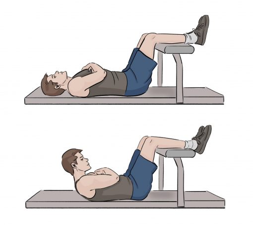 Modified Crunches