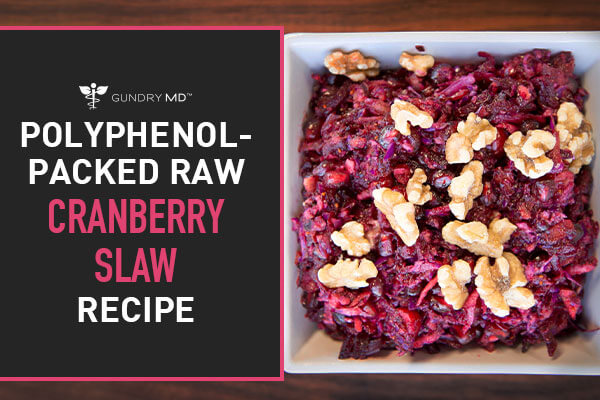 Delicious, Sugar-Free Cranberry Slaw Recipe