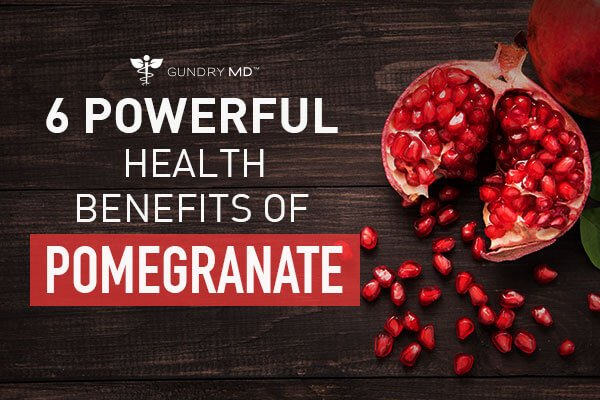 6 Powerful Health Benefits of Pomegranate Extract