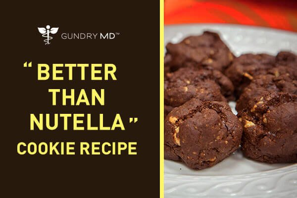 Dr. Gundry's Better than Nutella Cookie Recipe
