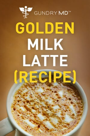 Golden Milk Latte | Gundry