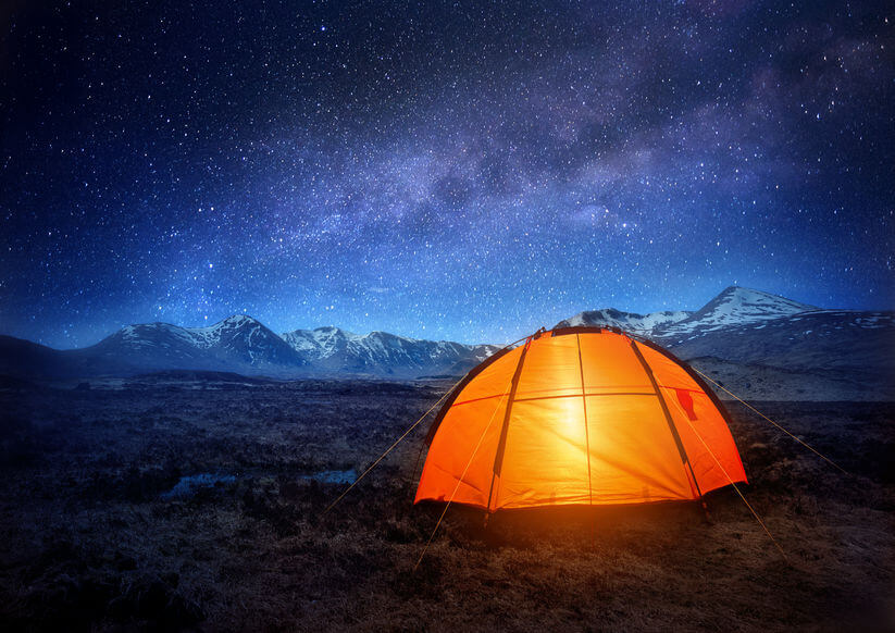 [NEWS]: Can't Sleep? New Study Reveals Camping in the Winter Helps