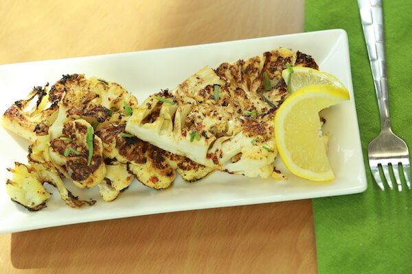 Grilled Cauliflower Steak Recipe (Plant Paradox approved)