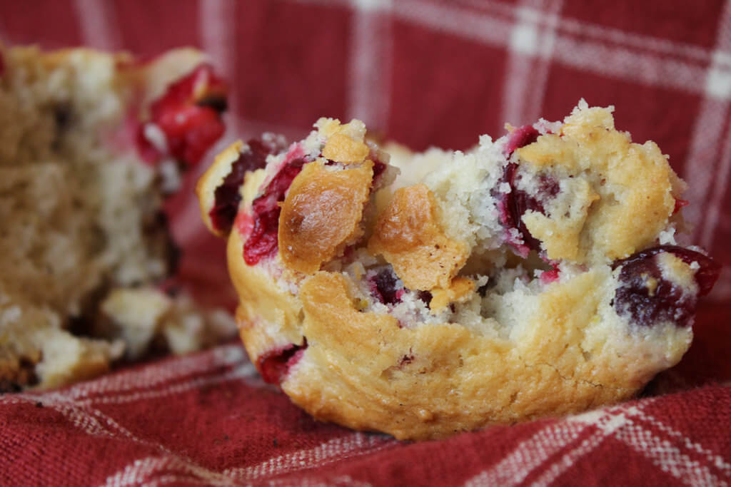 Lectin-Free Cranberry-Orange Muffin Recipe (3 easy steps)