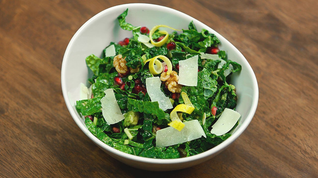 Dr. Gundry's Kale Thanksgiving Salad Recipe (VIDEO)