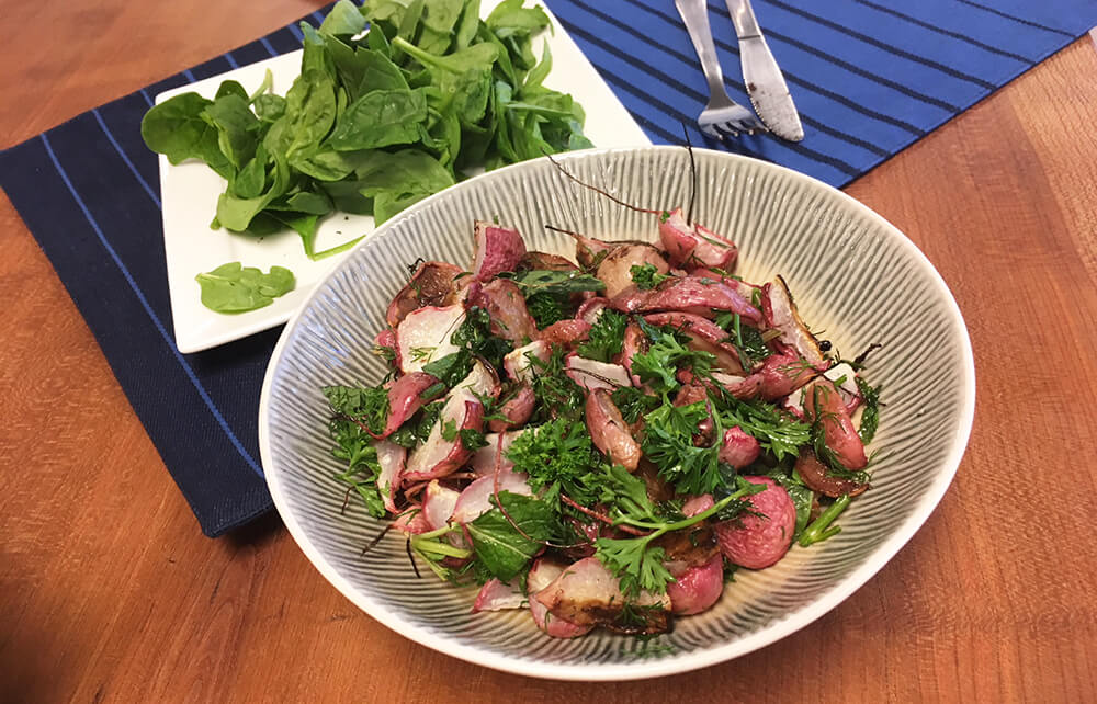 Dr. Gundry's Delicious Herb Roasted Radish Recipe