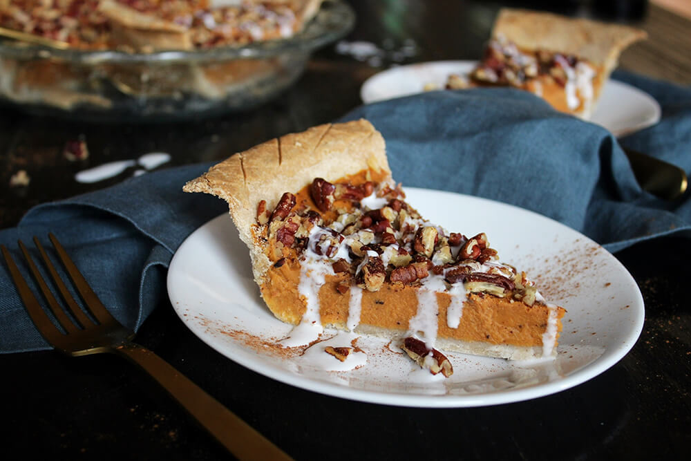 Delicious Vegan Sweet Potato Pie Recipe