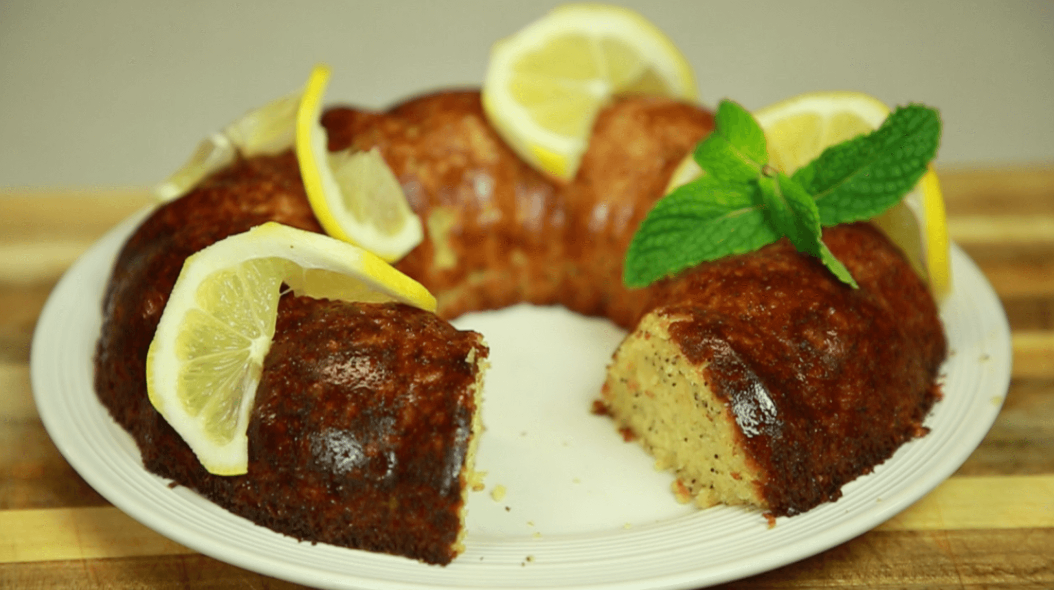 Dr. Gundry's Lectin-Free Lemon Poppy Coffee Cake