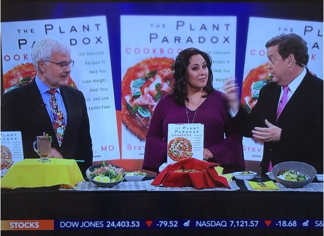 Dr Gundry on KTLA news talking about Plant Paradox Cookbook
